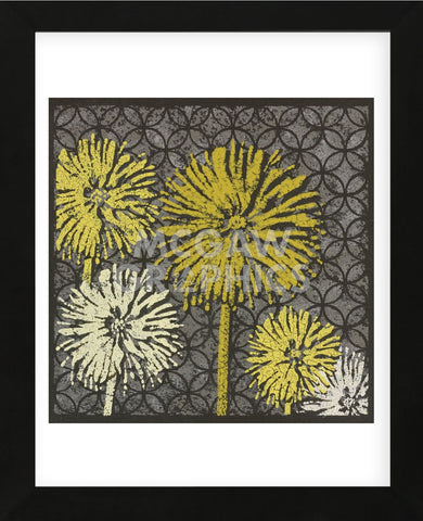 Dandelion on Circles Linked (Framed) -  Susan Clickner - McGaw Graphics