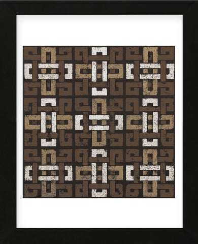 Large Knot 9 Square (Neutrals) (Framed) -  Susan Clickner - McGaw Graphics