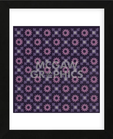 Moroccan Daisy (Purple) (Framed) -  Susan Clickner - McGaw Graphics