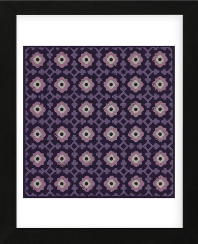 Moroccan Pawn Flower (Purple) (Framed) -  Susan Clickner - McGaw Graphics