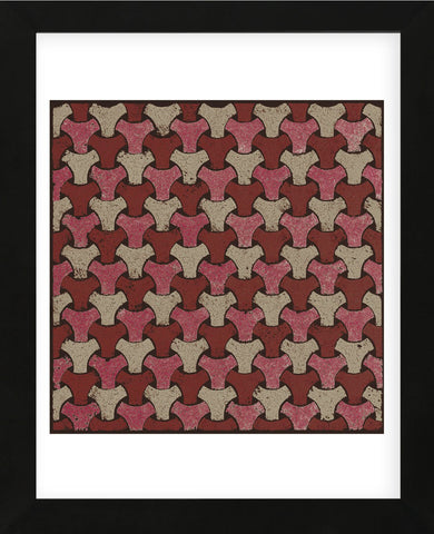 Interwoven (Red) (Framed) -  Susan Clickner - McGaw Graphics