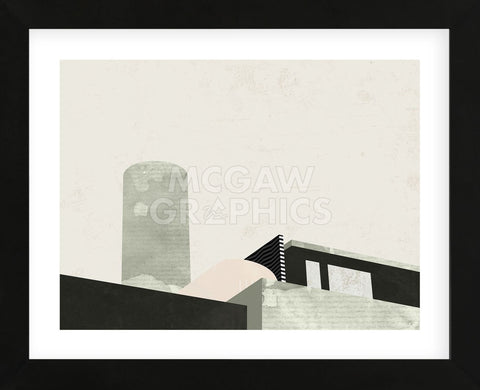 Up on the Roof (Framed) -  Michelle Collins - McGaw Graphics