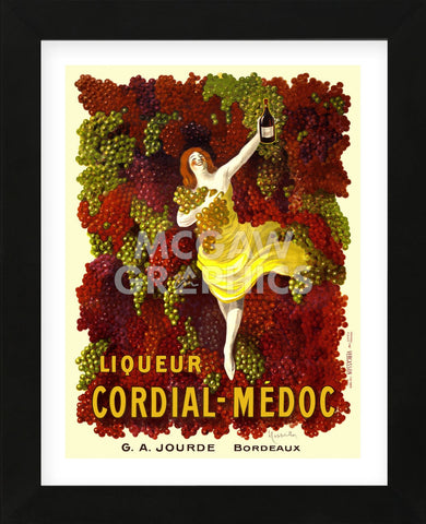 Liquer Cordial-Médoc, G. A. Jourde - Bordeaux (Framed) -  Leonetto Cappiello - McGaw Graphics