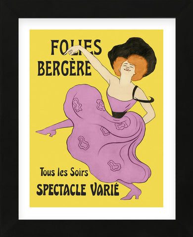 Folies-Bergere, 1900 (Framed) -  Leonetto Cappiello - McGaw Graphics
