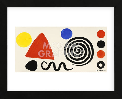 Alexander Calder - Abstraction, 1966