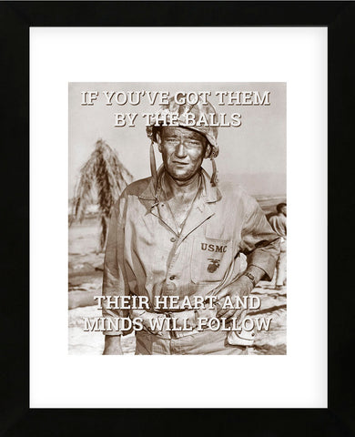 John Wayne: Hearts and minds (Framed) -  Celebrity Photography - McGaw Graphics