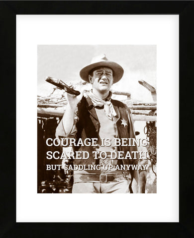Celebrity Photography - John Wayne: Courage