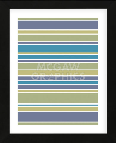 Marine Stripes (Framed) -  Denise Duplock - McGaw Graphics