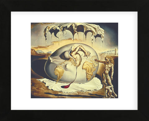 Geopoliticus Child Watching the Birth of the New Man, 1943 (Framed) -  Salvador Dali - McGaw Graphics