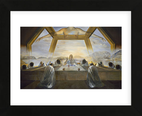 The Sacrament of the Last Supper (Framed) -  Salvador Dali - McGaw Graphics
