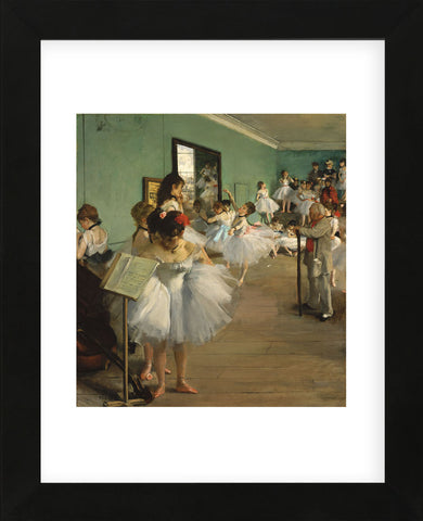 Edgar Degas - The Dance Class, 1874