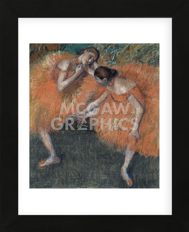 Edgar Degas - Two Dancers, ca. 1898
