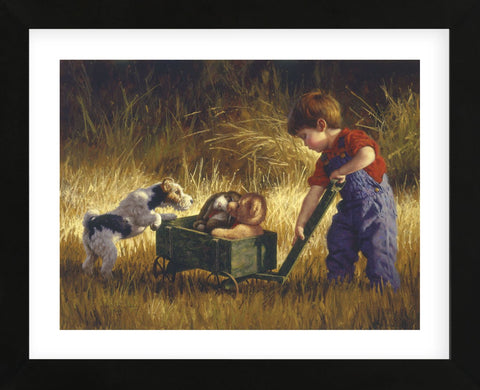 Curious Encounter (Framed) -  Jim Daly - McGaw Graphics