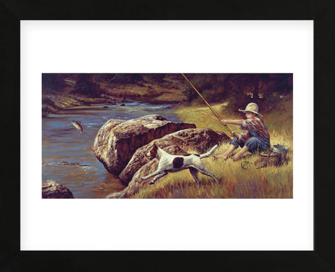 First Catch (Framed) -  Jim Daly - McGaw Graphics