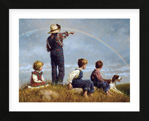 Follow the Rainbow (Framed) -  Jim Daly - McGaw Graphics