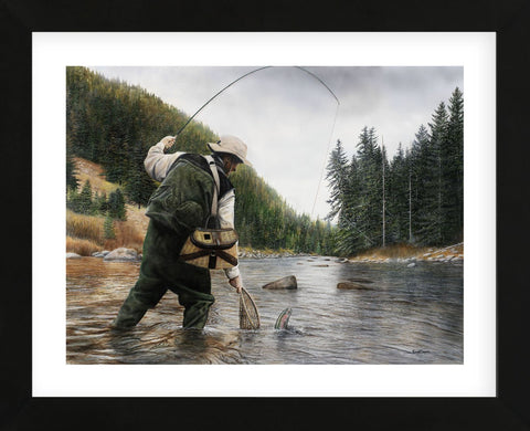 Kevin Daniel - Fishing the Gallatin