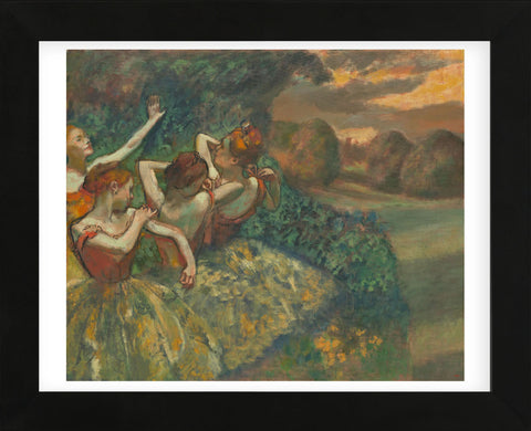 Four Dancers (Framed) -  Edgar Degas - McGaw Graphics