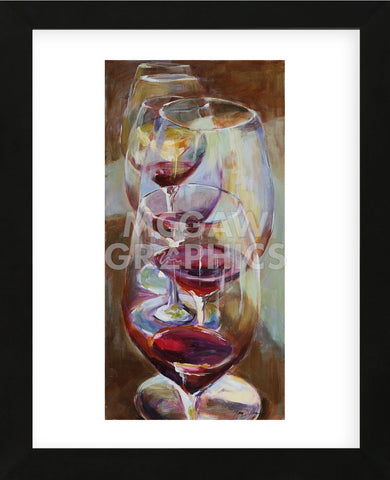 Winetasting (Framed) -  Amy Dixon - McGaw Graphics