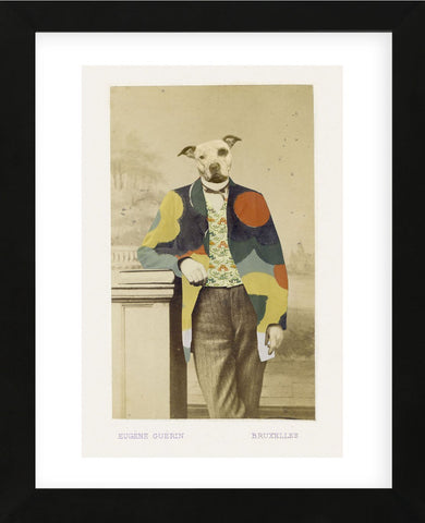 George (Framed) -  Philippe Debongnie - McGaw Graphics