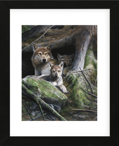 Mother's Pride (Framed) -  Kevin Daniel - McGaw Graphics
