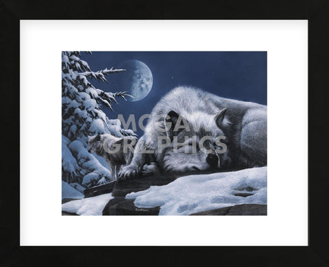 Sleepless Night (Framed) -  Kevin Daniel - McGaw Graphics