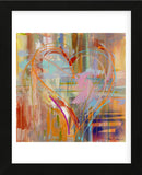 Abstract Heart (Framed) -  Amy Dixon - McGaw Graphics