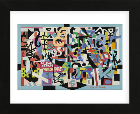 The Mellow Pad, 1945-1951 (Framed) -  Stuart Davis - McGaw Graphics