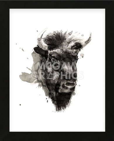 Buffalo (Framed) -  Philippe Debongnie - McGaw Graphics