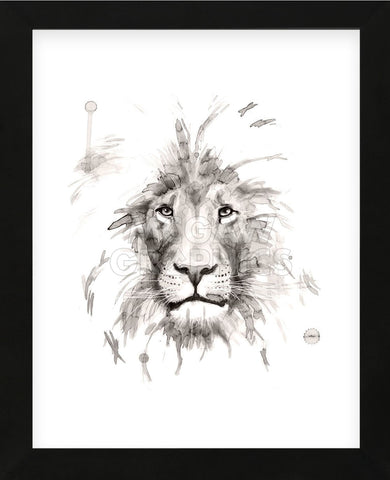 Lion (Framed) -  Philippe Debongnie - McGaw Graphics