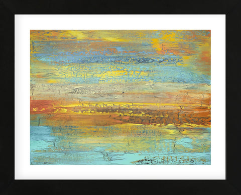 Golden Landscape (Framed) -  Alicia Dunn - McGaw Graphics
