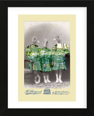 Maria, Anna, and Lisa (Framed) -  Philippe Debongnie - McGaw Graphics