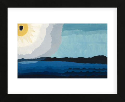 Sun on the Lake, 1938 (Framed) -  Arthur Dove - McGaw Graphics