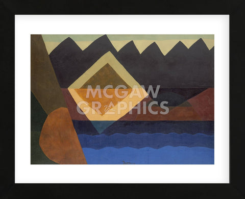Square on the Pond, 1942 (Framed) -  Arthur Dove - McGaw Graphics