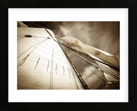 All Sails Set (Framed) -  Jim Dugan - McGaw Graphics