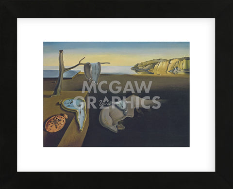 The Persistence of Memory, 1931 (Framed) -  Salvador Dali - McGaw Graphics