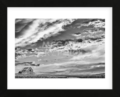 Late Summer Sky (Framed) -  Trent Foltz - McGaw Graphics