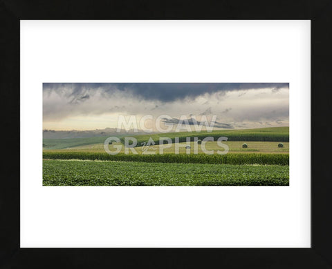 Storm Rolling Out (Framed) -  Trent Foltz - McGaw Graphics