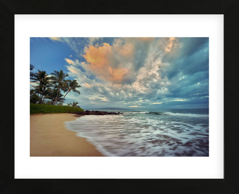 Secluded Beach (Framed) -  Dennis Frates - McGaw Graphics