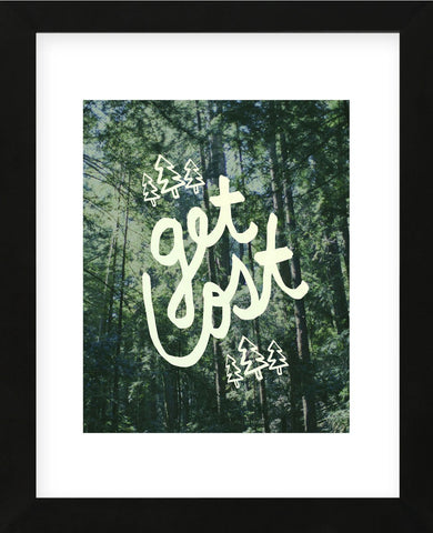 Get Lost Muir Woods (Framed) -  Leah Flores - McGaw Graphics