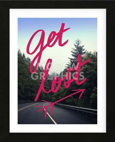 Get Lost (Framed) -  Leah Flores - McGaw Graphics