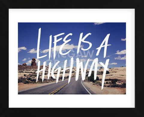 Life is a Highway (Framed) -  Leah Flores - McGaw Graphics