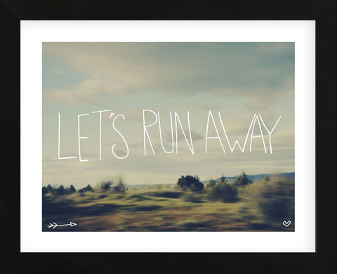 Let's Run Away (Framed) -  Leah Flores - McGaw Graphics