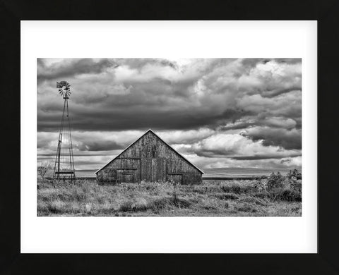 Windmill and Barn (Framed) -  Trent Foltz - McGaw Graphics