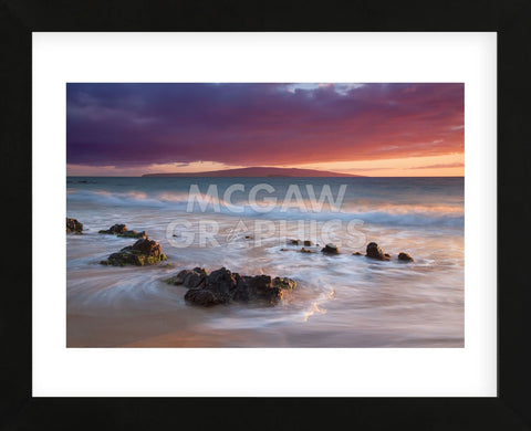 Sunset Afterglow (Framed) -  Dennis Frates - McGaw Graphics