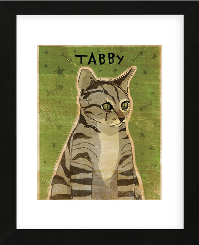 Tabby (grey)  (Framed) -  John W. Golden - McGaw Graphics