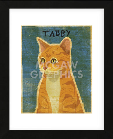 Tabby (orange)  (Framed) -  John W. Golden - McGaw Graphics
