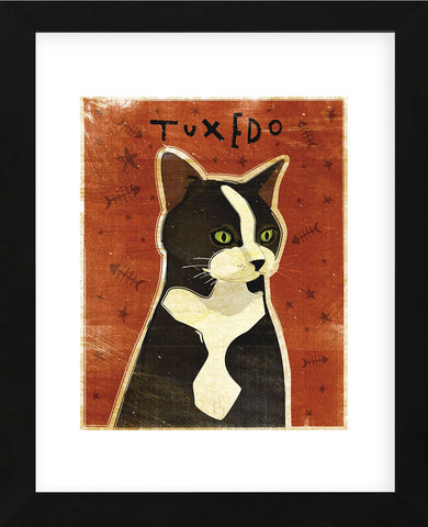 Tuxedo   (Framed) -  John W. Golden - McGaw Graphics