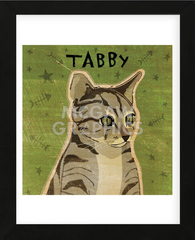 Tabby (grey) (square)  (Framed) -  John W. Golden - McGaw Graphics