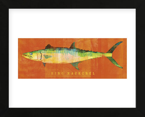 King Mackerel  (Framed) -  John W. Golden - McGaw Graphics