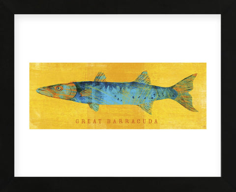 Great Barracuda  (Framed) -  John W. Golden - McGaw Graphics